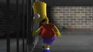 Bart Simpson vs Bugs Bunny home animation movie