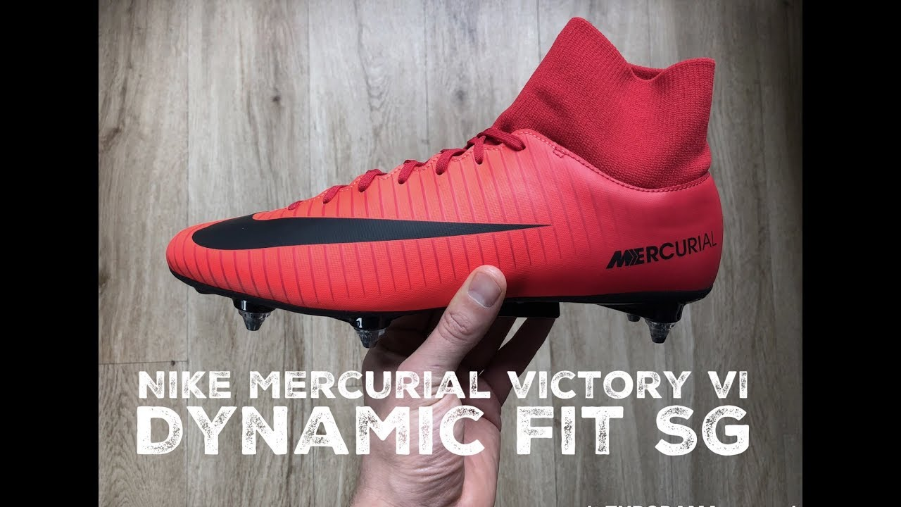 bbb77584 Nike Mercurial Victory VI Dynamic Fit SG ˋFire and Ice Pack´ | UNBOXING | football  boots | 2017 | HD