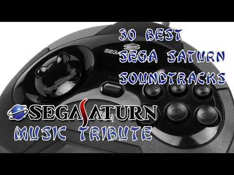 30 Best SEGA Saturn Soundtracks - SEGA Saturn Music Tribute