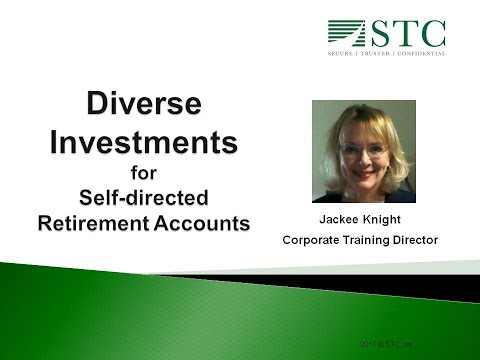 Diverse Investments for Self directed Retirement Accounts