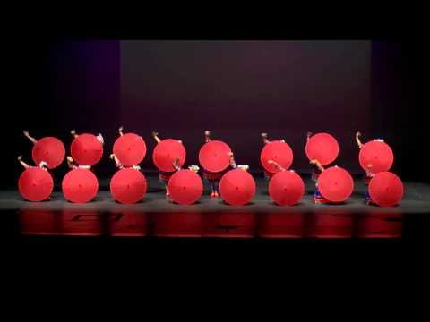 Red Miao Umbrella Dance at Zionsville High School