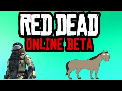 Red Dead Redemption 2 Online: Tin Helmet Juggernaut and Mental Horse Funny Moments