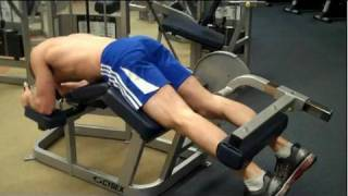 How To: Prone Leg Curl (Cybex)