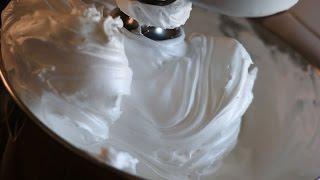 Белковый заварной крем по моему рецепту. Italian Merengue