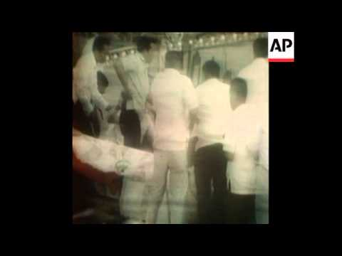 SYND 7-12-72 ASSASSINATION ATTEMPT ON MRS MARCOS IN THE PHILIPPINES