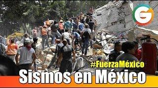 Tres sismos han sorprendido a México en menos de 17 días #FuerzaMéxico