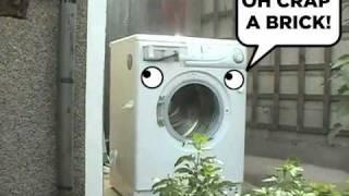 Washing Machine Self Destructs REMIX