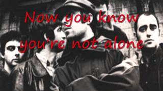 The girl in the dirty shirt - Oasis - Lyrics.wmv