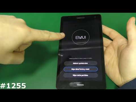 Как сбросить планшет huawei до заводских настроек