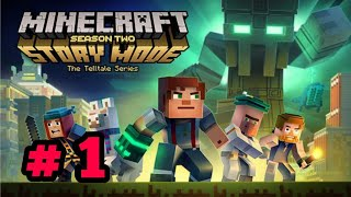 Minecraft Story Mode Gameplay Season 2 Walkthrough Part 1 ( iOS, Android)