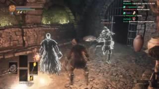 Dark Souls 3 Trolling - Spooky Ghost [Stream Sniping]