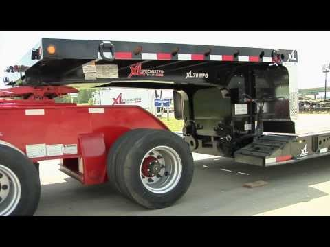 XL Specialized Trailers Mechanical Neck Operating Instructions