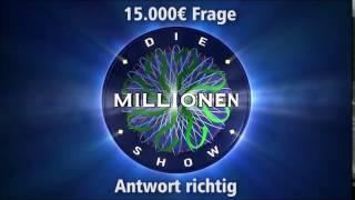 15.000€ Frage - Antwort richtig | Millionenshow Soundeffect
