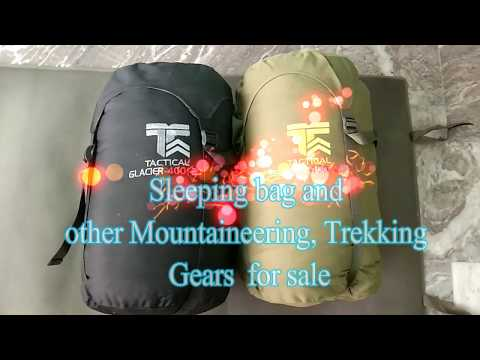 Sleeping Bag & Other Mountaineering Equipment For Sale By Go Himalayas