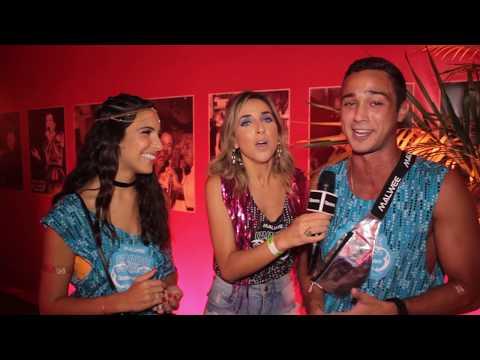 Rayssa Bratillieri e André Frambach falam sobre namoro no Camarote QUEM O Globo