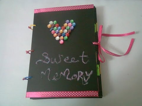 DIY : #14 Sweet Memory Photo Album  ♥