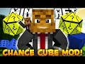 Minecraft EPIC Chance Cubes Mod - Random Items, Mobs, and FUNNY DEATHS! - Mod Showcase