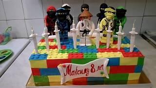 Торт Lego !!!