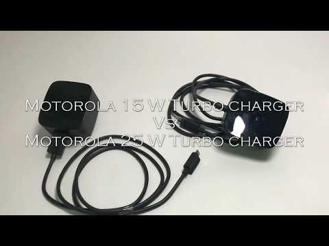 91c847bfd70 Moto 15 watt turbocharger vs 25 watt turbo charger - YouTube