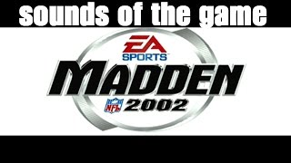 Madden NFL 2002 (ps2) - retro game of the day