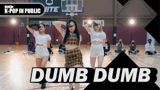 [4X4] SOMI (전소미) - DUMB DUMB 덤덤 I 안무 댄스커버 DANCE COVER [4X4 ONLINE BUSKING]