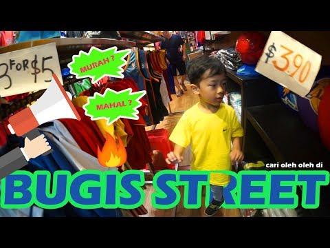 Beli Oleh Oleh di Bugis Street Singapore !
