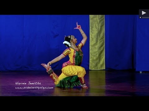 Shankara Sri Giri by Harinie Jeevitha - Sridevi Nrithyalaya - Bharathanatyam Dance