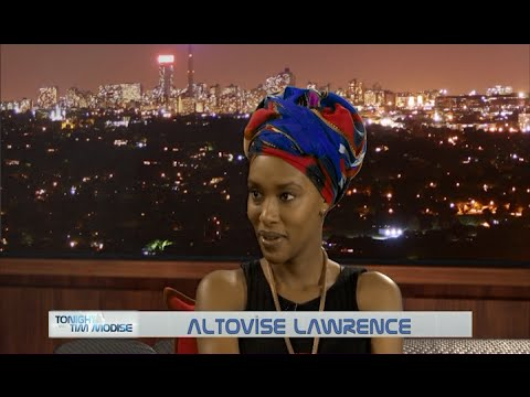 Tonight with Tim Modise | Altovise Lawrence, BET Africa Top Actor Winner