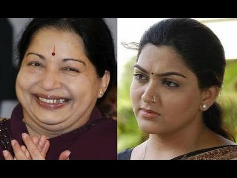 Khushboo To Contest Against J Jayalalitha