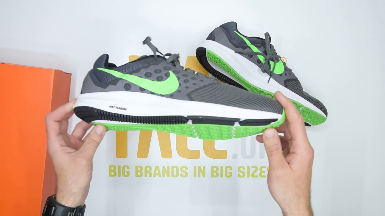 76919f858a7 Nike Downshifter 7 Running - Grey  Green - Unboxing