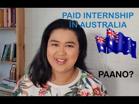 Internship in Australia | Paano Maging Intern sa Australia | Pinay Adelaidian