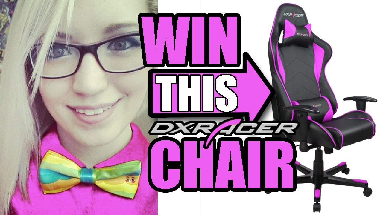 GIVEAWAY: DXRacer Chair - Vloggest