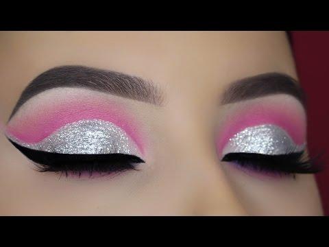 Crystal Pink Cut Crease Tutorial thumbnail