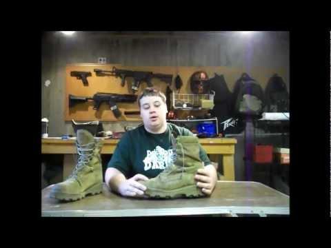 Usmc Issue Bates Hot Weather Boots Doovi