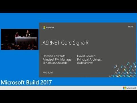 SignalR .NET Core: Realtime cross-platform open web communication