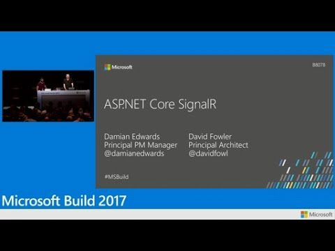 SignalR .NET Core: Realtime cross-platform open web communication
