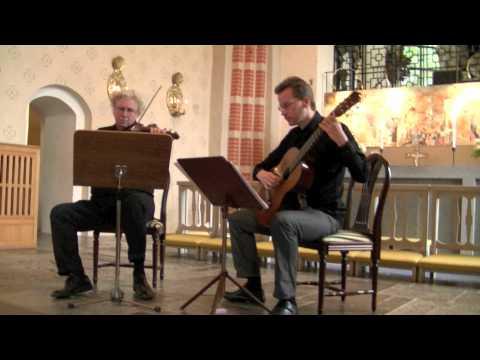 Johann Sebastian Bach Sonata In G BWV 1021 Presto