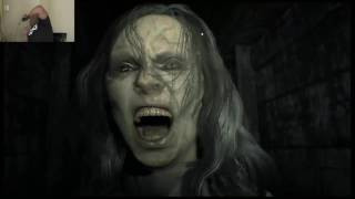 MY EX-GIRLFRIEND IS CRAZY AS HELL!!! - Resident Evil 7 Biohazard part 2