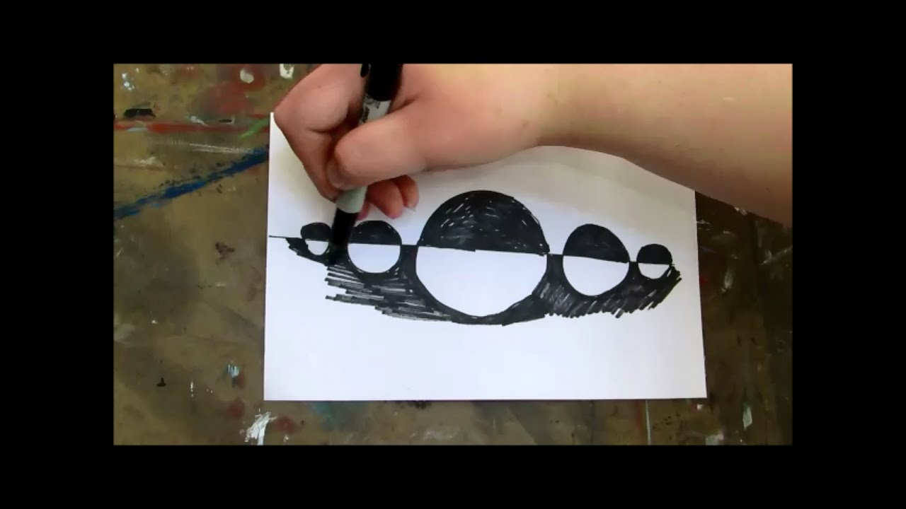 What Is Positive And Negative Space Art Theory Youtube