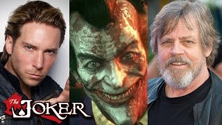 Joker Voice Compare In Video Games From 2003 To 2017