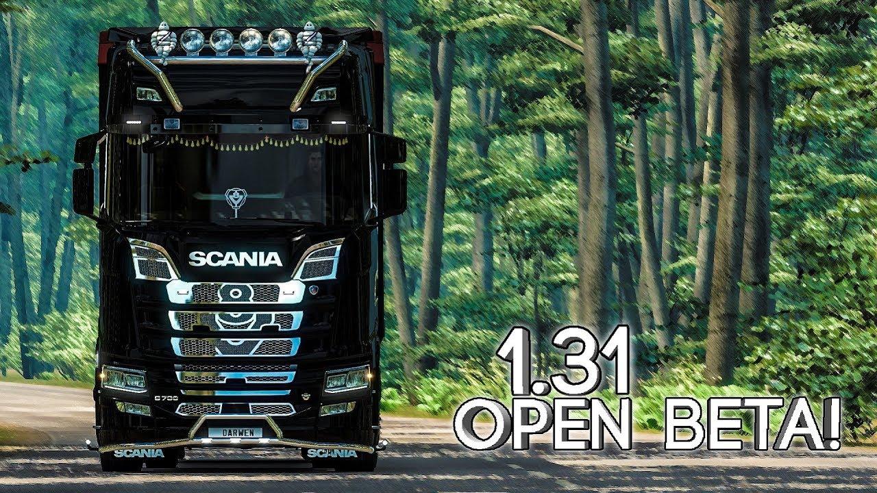 Euro Truck Simulator 2 1 31 Update Open Beta Youtube