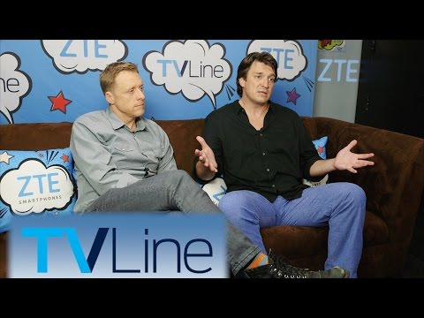 Nathan Fillion on Castle's End  TVLine Studio Presented by ZTE  ComicCon 2016