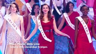 MISS WORLD 2016 - Promo I United Kingdom / London Live