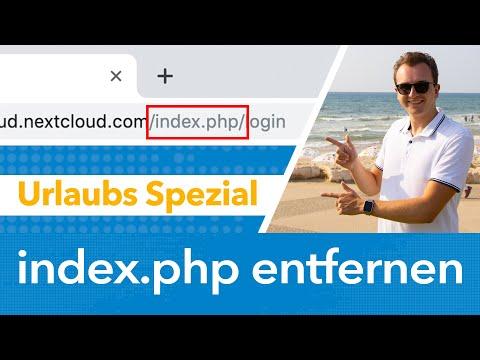 Index.php Aus Nextcloud URL Entfernen [Urlaubsspezial]