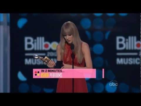 History of Taylor Swift Billboard Awards 2012