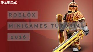 Roblox MiniGames Tutorial V2 2018