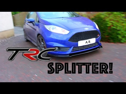 TRC Triple R Composites Ford Fiesta MK7 ST180 Rear Spats