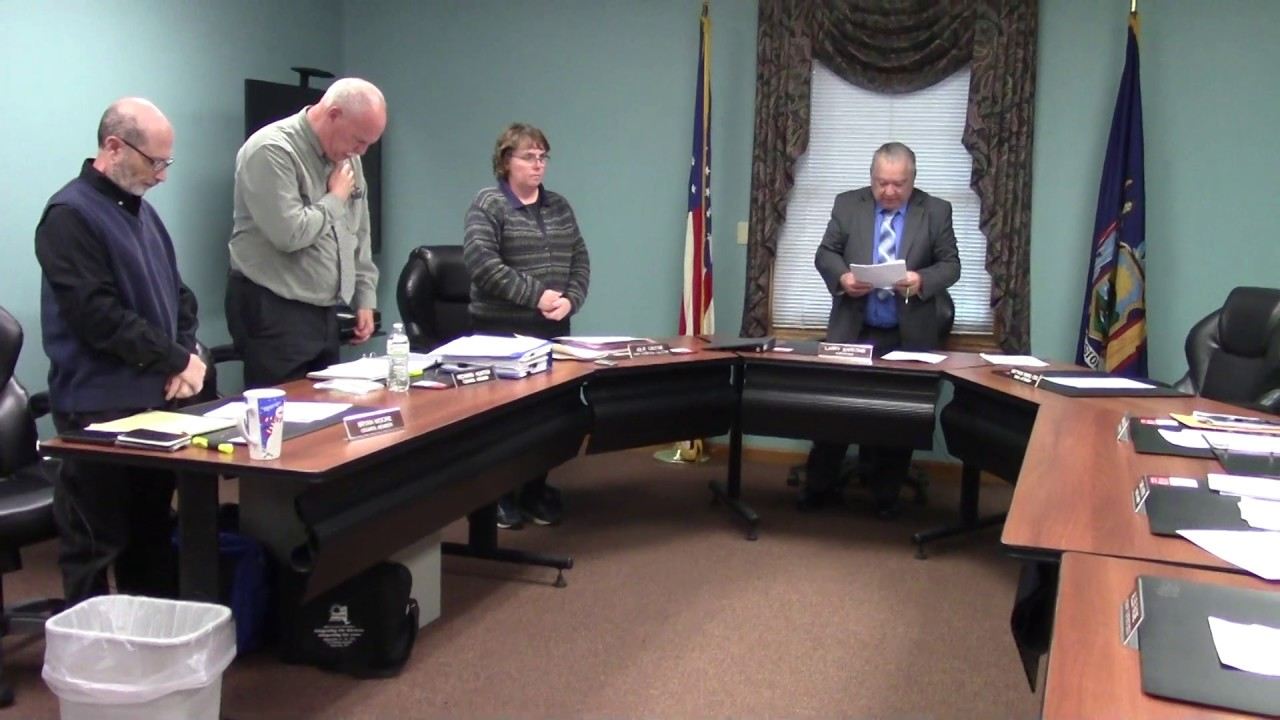 Champlain Town Board Meeting  5-14-19