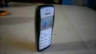 Escucha los tonos del clasico Nokia 1100
