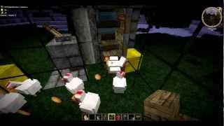 Minecraft Guide #6: Как сделать автоматический курятник(MinecraftexGuide #6: В данном выпуске я расскажу как построить автоматический курятник с средним уровнем затрата..., 2012-04-27T16:04:33.000Z)